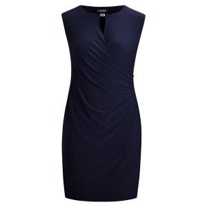 Keyhole Stretch Jersey Dress