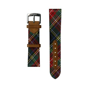 Tartan Silk Watch Strap
