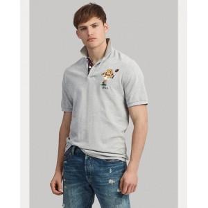 Classic Fit Bear Polo Shirt