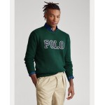 Polo Cotton Crewneck Sweater