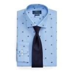 Slim Fit Club-Print Shirt