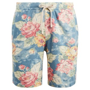 Floral-Print Spa Terry Short