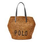 Polo Raffia Large Tote Bag