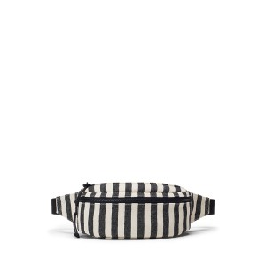 Striped Canvas Fanny Pack