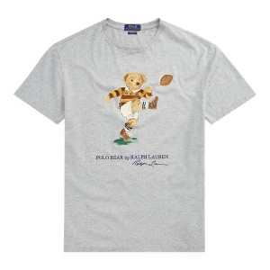Classic Fit Rugby Bear Tee