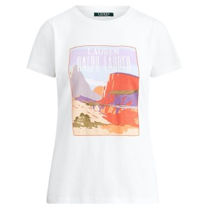 Cotton-Blend Graphic Tee