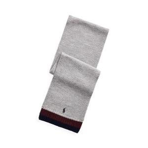 Striped Merino Wool Scarf
