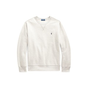 Cotton-Blend-Fleece Sweatshirt  <font color=blue>(Light Grey Heather 색상은 연한 회색입니다)</font>