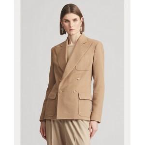 Caley Camel-Hair Jacket