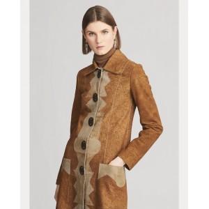 Milez Distressed Suede Coat