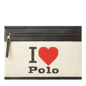 Graphic Canvas Small Pouch