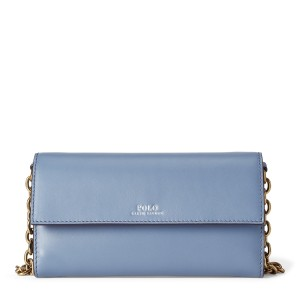 Leather Small Chain Wallet