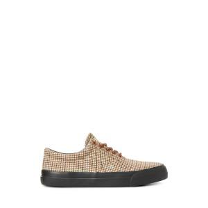 Bryn Silk-Linen Sneaker