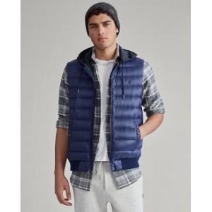 Down Hooded Vest