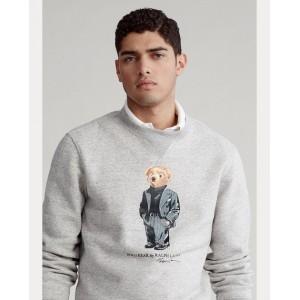 Suit Bear Fleece Sweatshirt