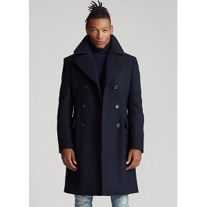 Wool-Blend Car Coat