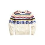 Snowflake Cotton-Wool Sweater