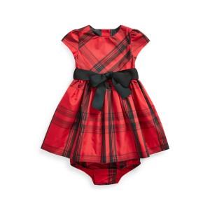 Plaid Taffeta Dress  Bloomer