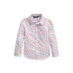 Floral Cotton Batiste Shirt
