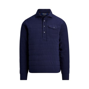 Quilted Stretch Pullover