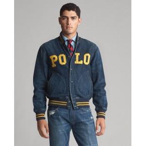 Polo Denim Baseball Jacket