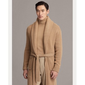 Wool-Cashmere Cardigan
