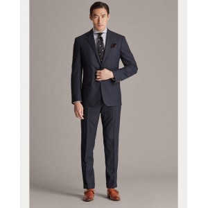 Gregory Houndstooth Wool Suit