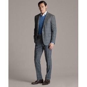 Gregory Plaid Suit Trouser