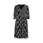 Multi-Print Jersey Dress
