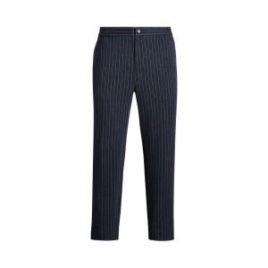 Chalk-Stripe Knit Pant