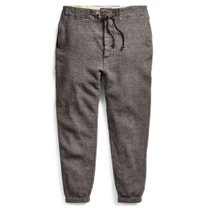 Slim Fit Wool-Linen Pant