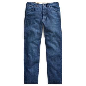 Slim Straight Denim Pant