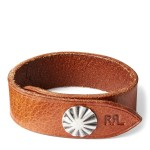 Concho Leather Cuff