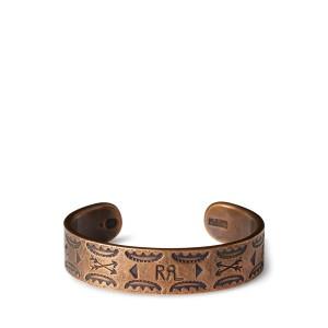 Stamped Copper Cuff