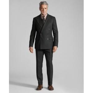 Slim Fit Plaid Suit Trouser