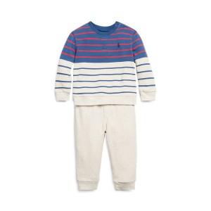 Terry Sweatshirt  Pant Set