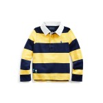 Embroidered Cotton Rugby