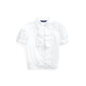 Ruffled Cotton Batiste Top