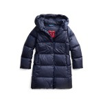 Quilted Down Long Coat