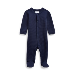 Waffle-Knit Cotton Coverall
