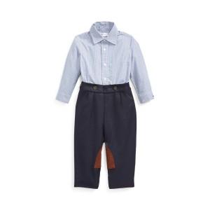 Cotton Shirt  Wool Pant Set