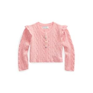 Pointelle Cotton Sweater