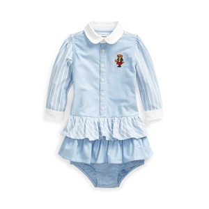 School Bear Dress  Bloomer