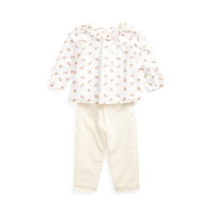 Cotton Top  Pant Set