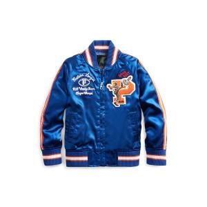 Satin Souvenir Baseball Jacket