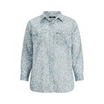 Floral Cotton Voile Shirt