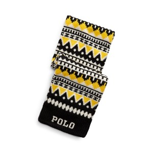 Polo Wool-Blend Scarf