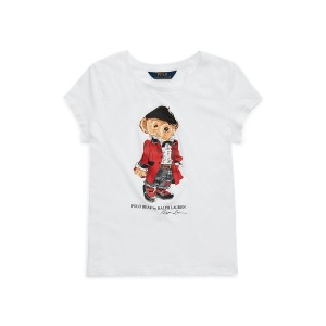Holiday Runway Bear Cotton Tee