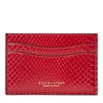 Ayers Snakeskin Card Case