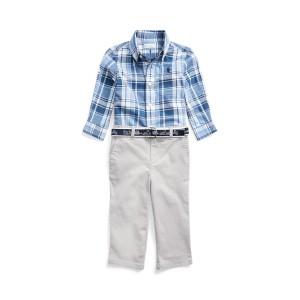 Shirt, Belt  Pant Set